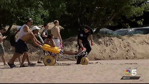 [CHI] 3 Arrested, 4 Hospitalized Amid Large Disturbance at North Avenue Beach: Police