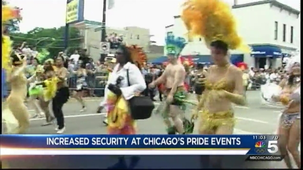 [CHI] City Beefs Up Security Ahead of Pride Events