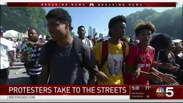 [CHI] Protesters Attempt to 'Shut Down' the Taste of Chicago