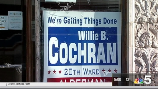 [CHI] Ald. Willie Cochran Indicted on Federal Charges