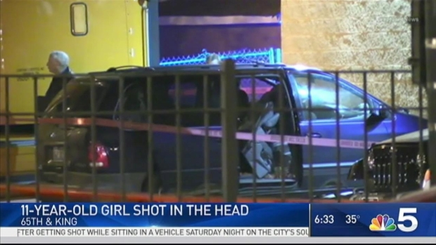 Girls, 11 and 12, shot in head in separate Chicago attacks