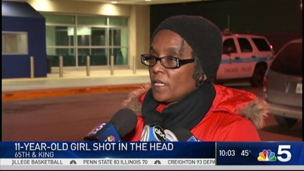 Girl, 11, Shot in the Head on Chicago's South Side