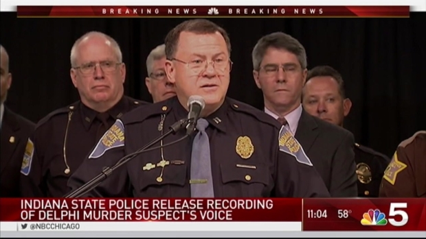 [CHI] Police Release Audio of Suspect in Indiana Girls' Deaths
