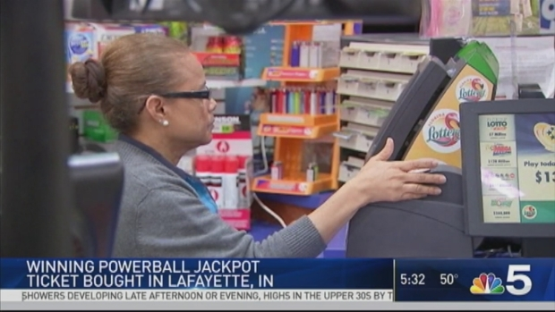 Winning numbers drawn for $435M Powerball jackpot