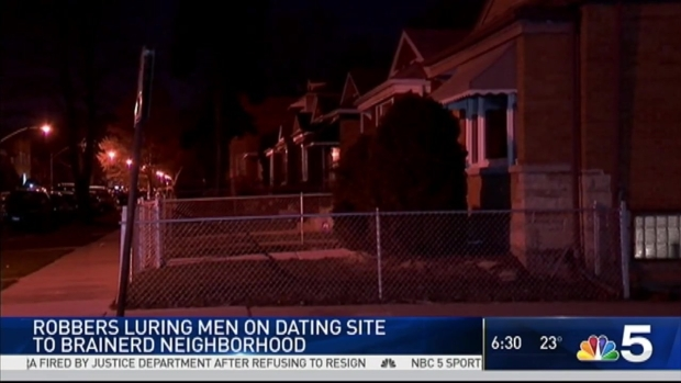 [CHI] Robbers Lured Victims Using Dating Site: Police