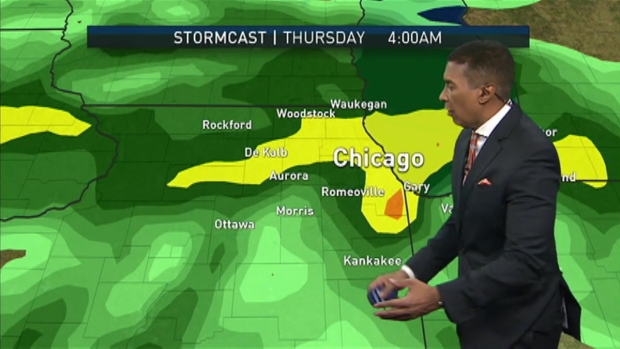 [CHI] Rain, Possibly Storms Ahead