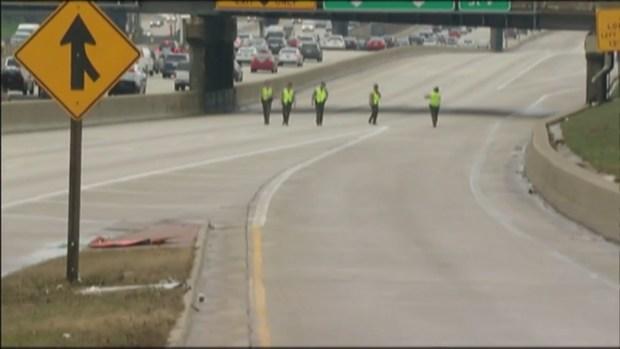 [CHI] Police Investigate Shooting on Dan Ryan Expressway