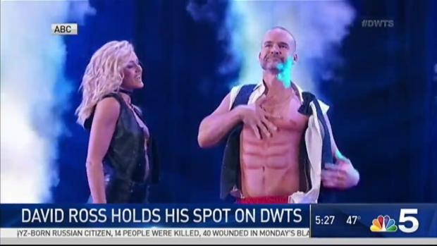 [CHI] David Ross Shows Off 'Magic Mike'-Inspired Moves on 'Dancing With the Stars'