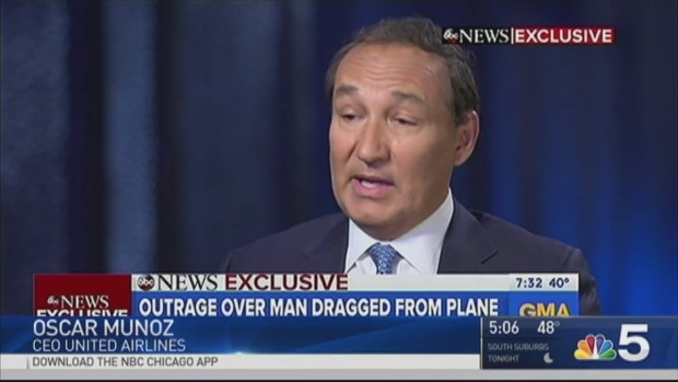 United to Refund All Customers on Flight 3411 After Man Dragged Off