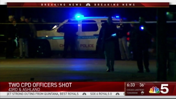 [CHI] Officers Shot in Chicago Were 'Targeted,' Persons of Interest Being Questioned: Police