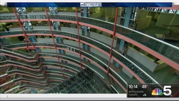 [CHI] Rauner Gives Guided Tour Of Thompson Center He Says Should Be Demolished