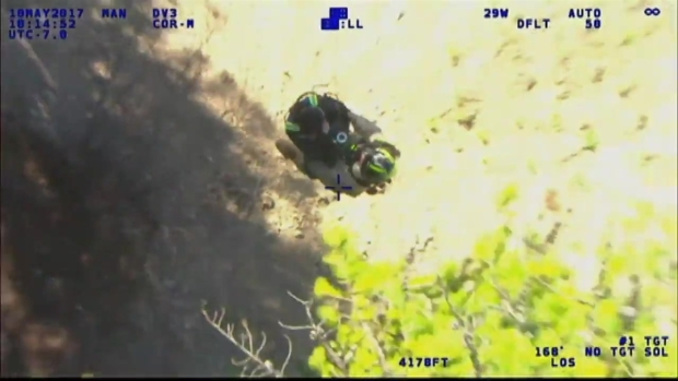 [CHI] Video Shows Rescue of Missing Chicago-Area Hiker