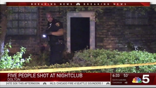 5 Wounded in Dolton Club Shooting