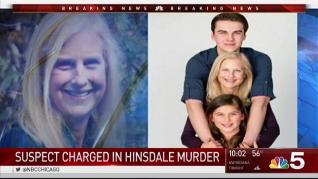 [CHI] Man Charged Weeks After Hinsdale Mother Found Beaten to Death in Her Home