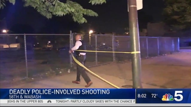 [CHI] Officers Fatally Shoot Man After He Fired at Squad Car: CPD