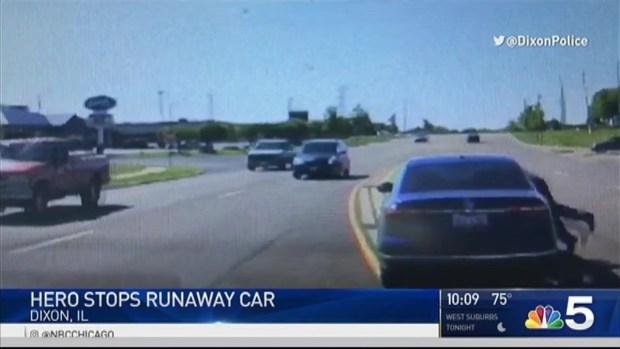 Good Samaritan Stops Car in Dramatic Dixon Rescue