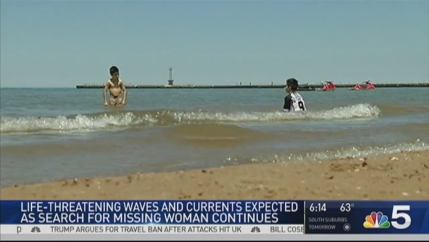 [CHI] Crews Search for Woman Who Disappeared in Lake Michigan at Montrose Beach