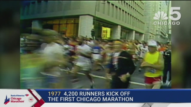 This Year in Bank of America Chicago Marathon History: 1977