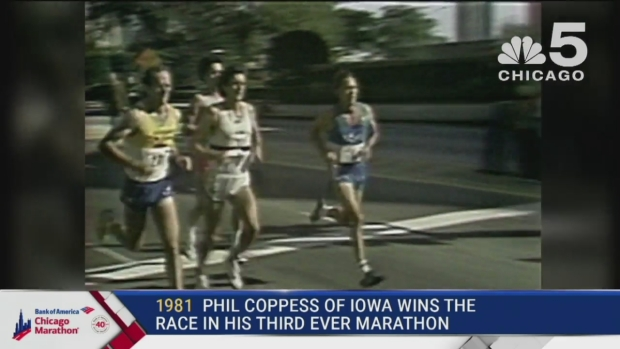 This Year in Bank of America Chicago Marathon History: 1981