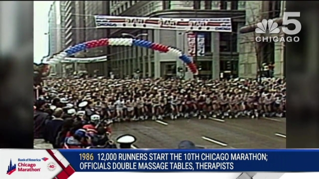 This Year in Bank of America Chicago Marathon History: 1986