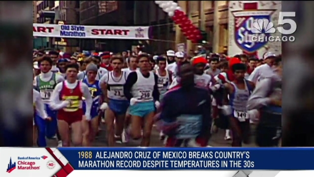 This Year in Bank of America Chicago Marathon History: 1988