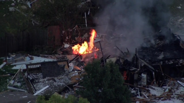 At Least 1 Injured in Fiery Gurnee Home Explosion: Sheriff