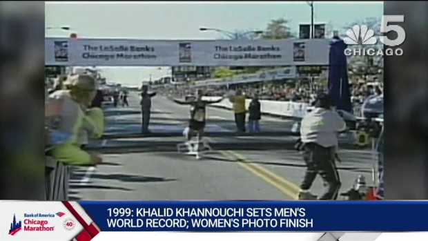 This Year in Bank of America Chicago Marathon History: 1999