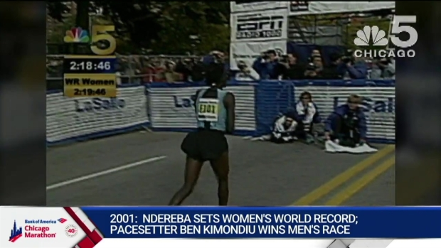 This Year in Bank of America Chicago Marathon History: 2001