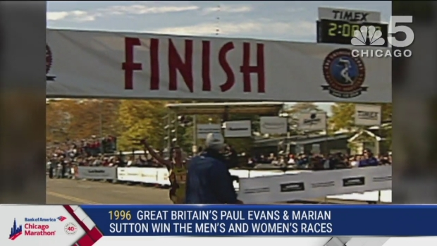 This Year in Bank of America Chicago Marathon History: 1996
