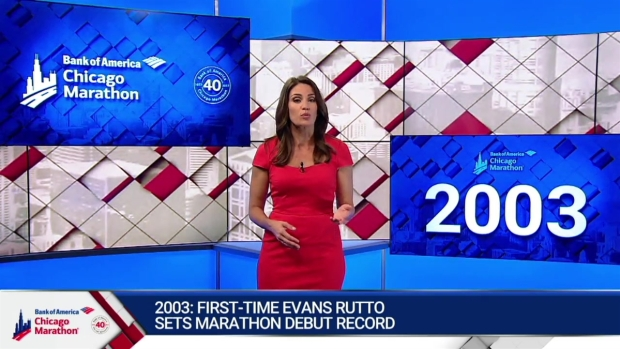 This Year in Bank of America Chicago Marathon History: 2003