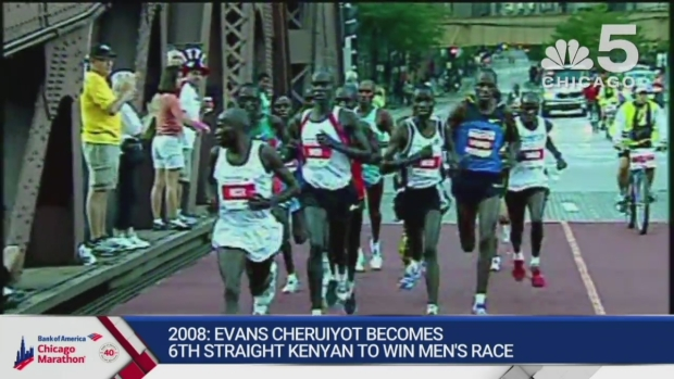 This Year in Bank of America Chicago Marathon History: 2008