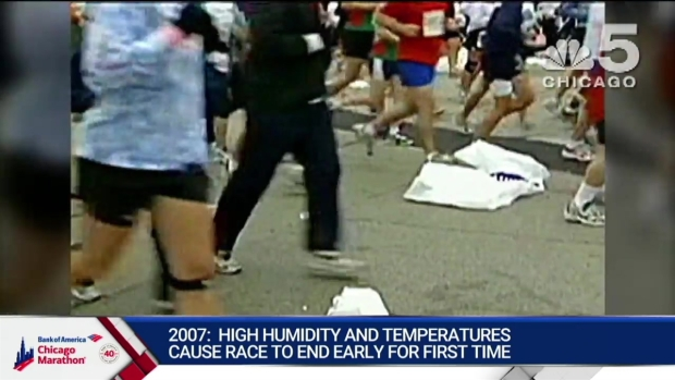 This Year in Bank of America Chicago Marathon History: 2007