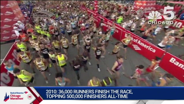 This Year in Bank of America Chicago Marathon History: 2010