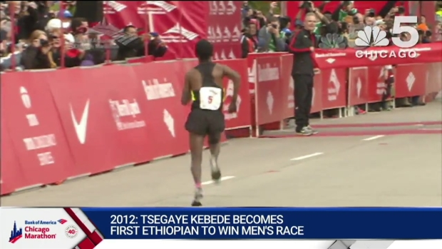 This Year in Bank of America Chicago Marathon History: 2012