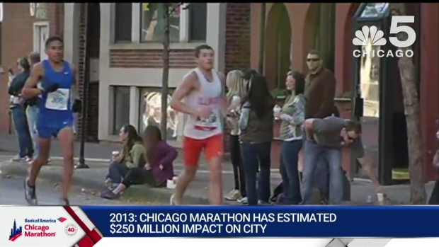 This Year in Bank of America Chicago Marathon History: 2013