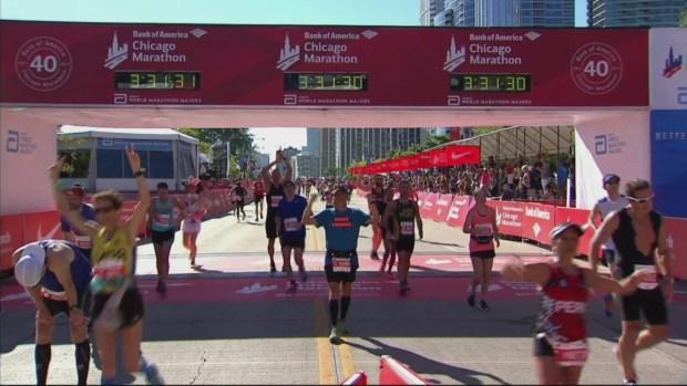 2017 Bank of America Chicago Marathon Finish: 3:28:07