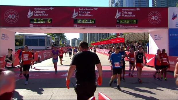2017 Bank of America Chicago Marathon Finish: 3:29:58