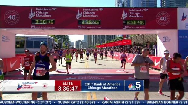 2017 Bank of America Chicago Marathon Finish: 3:34:28