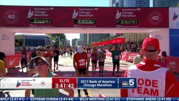 2017 Bank of America Chicago Marathon Finish: 3:39:04