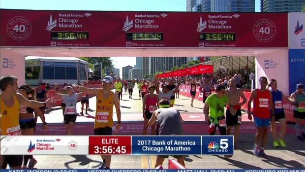 2017 Bank of America Chicago Marathon Finish: 3:54:00