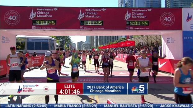 2017 Bank of America Chicago Marathon Finish: 3:59:28