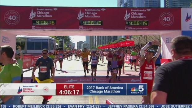 2017 Bank of America Chicago Marathon Finish: 4:04:02