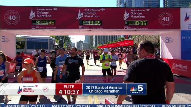 2017 Bank of America Chicago Marathon Finish: 4:08:28