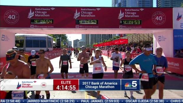 2017 Bank of America Chicago Marathon Finish: 4:12:43