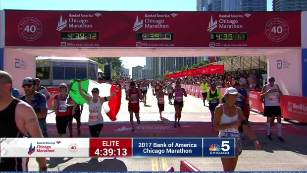 2017 Bank of America Chicago Marathon Finish: 4:37:00