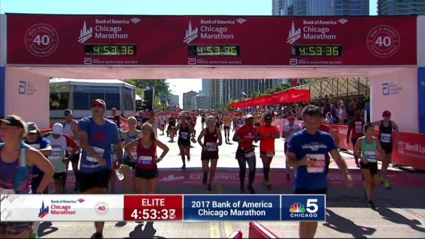2017 Bank of America Chicago Marathon Finish: 4:51:00