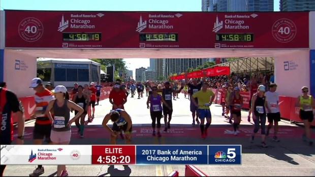 2017 Bank of America Chicago Marathon Finish: 4:56:11