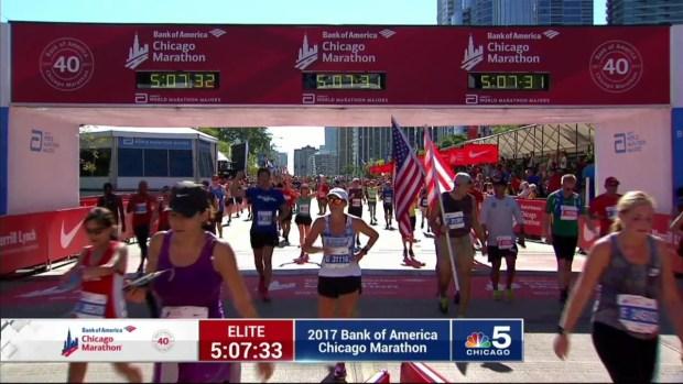 2017 Bank of America Chicago Marathon Finish: 5:00:25