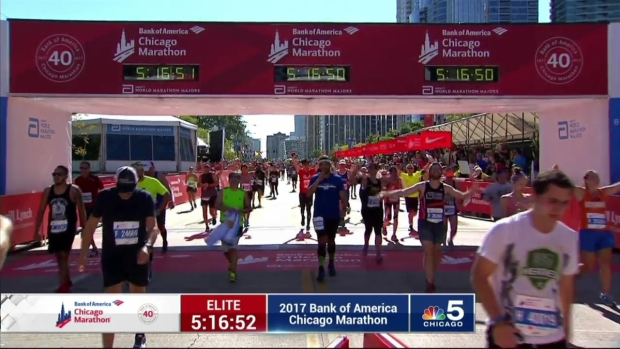 2017 Bank of America Chicago Marathon Finish: 5:14:33
