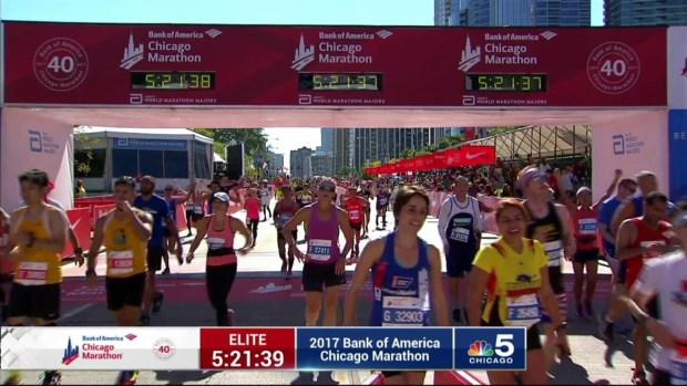 2017 Bank of America Chicago Marathon Finish: 5:19:08